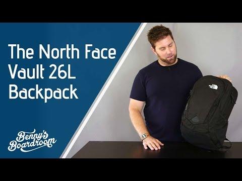 The North Face Vault Backpack Walkthrough - Benny's Boardroom