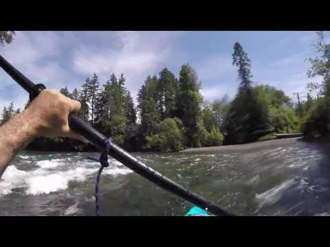 paddling Puntledge river June 7 2016