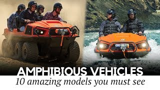Top 10 Amphibious Vehicles and Off-Road Machines You Can Actually Buy