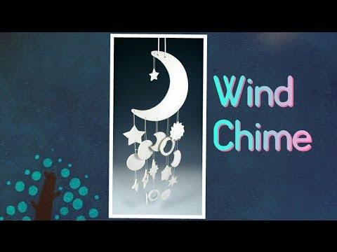 DIY- Homemade Wind Chime using Clay | Enjoy Crafting # 53
