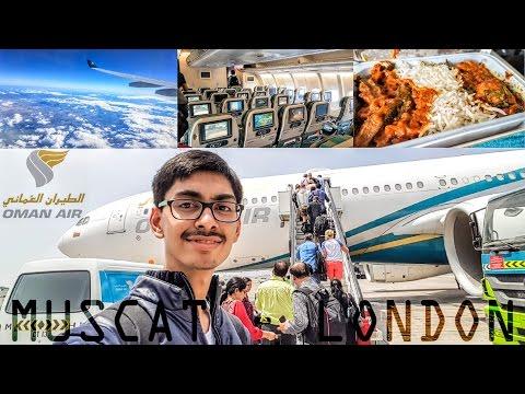 #2. Oman Air WY0101 | Muscat to Heathrow,London Flight Travel Report|Oman To UK|#RCTravels|SamsungS7
