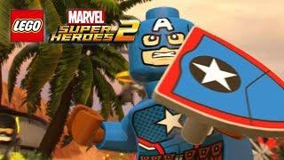 Lego Marvel Superheroes 2 -  How To Unlock Captain America (secret Empire)