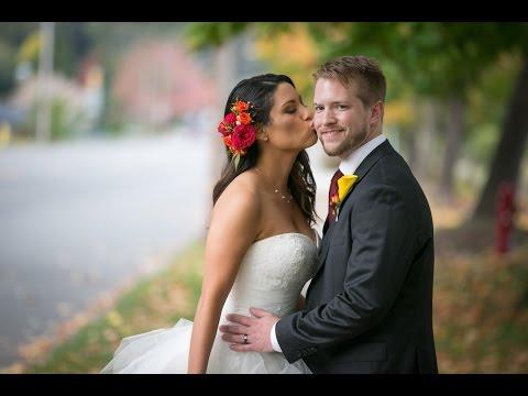 Holy Rosary Church Wedding Portrait Photographer | Edmonds