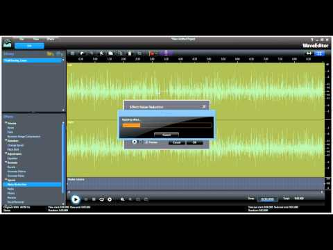quick refresher - basic audio editing in Power Director