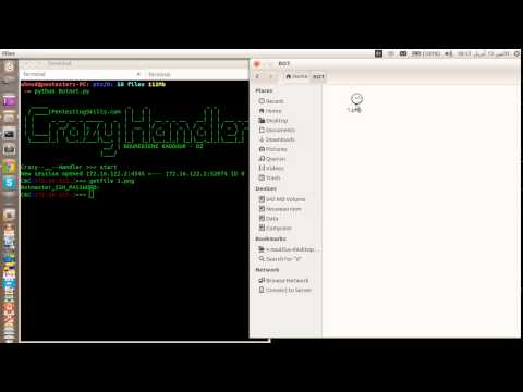 Take&Get Screenshots&Files using SCP through an SSH Transport Layer - Crazy Handler (Victims)