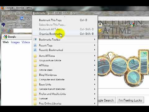 How to Import Firefox Bookmarks and Export Firefox Bookmarks