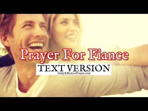Prayer For Fiance (Text Version - No Sound)