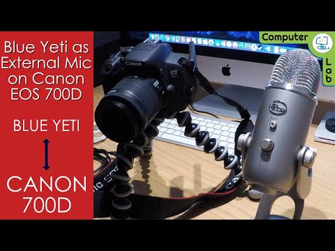 HOW TO - Connect Canon 700d to your Yeti Microphone for Vlog.