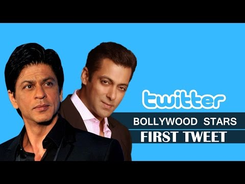 First Tweet of Bollywood Stars