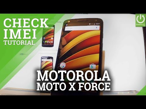 MOTOROLA Moto X Force How to Check IMEI / Serial Number
