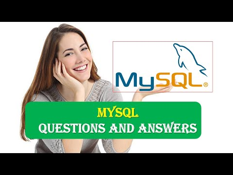 MySQL Interview Questions Answers Part 1