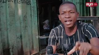 FUNDI GARAGE ALIESHUHUDIA AJALI, MDOGO WAKE AKITEKETEA KWA MOTO MORO