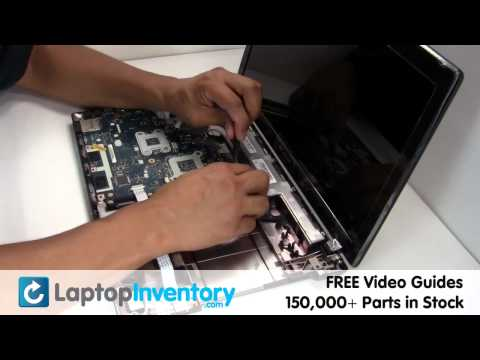 Gateway NV55C NV59C RAM Motherboard Replacement Install, Replace - Laptop Notebook System Board