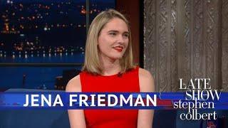 Jena Friedman Got Behind Trump (Literally Not Figuratively)