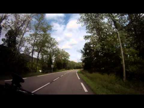 Driving In France - Caussade - Albi