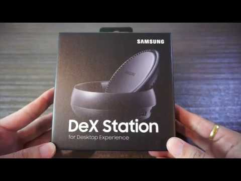 samsung dex station unboxing & testing//三星DEX工作行動站開箱&測試