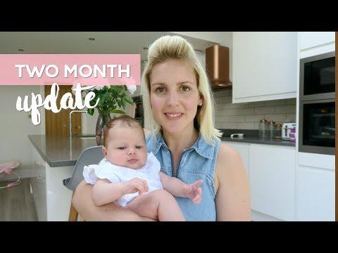 2 Month Baby & Postpartum Update | Postnatal Depression? Tummy Time, 8 Week Jabs & Water Infection!