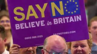 The British people have spoken, we are listening, we're going to leave the European Union