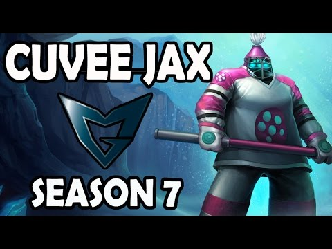 Samsung Cuvee JAX vs YASUO TOP Ranked Korea Pre Season 7