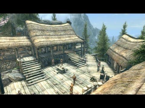 Skyrim PS4 Mods: Bear Mountain Lodge (Player Home)