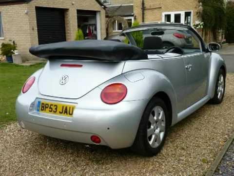 Volkswagen Beetle Convertible 2004 For Sale SDSC Specialist Cars