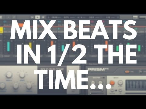 How to Make Professional Sounding Beats on Maschine in 1/2 the Time