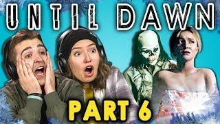 BATH TIME CUT SHORT! | UNTIL DAWN - Part 6 (React: Let