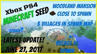 Minecraft Xbox One/PS4 Amazing Large Seed - Every Biome In
