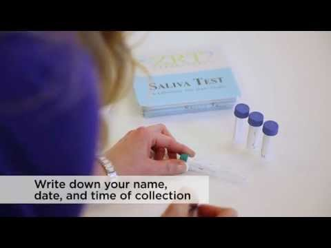 Hormone Testing: Saliva Collection