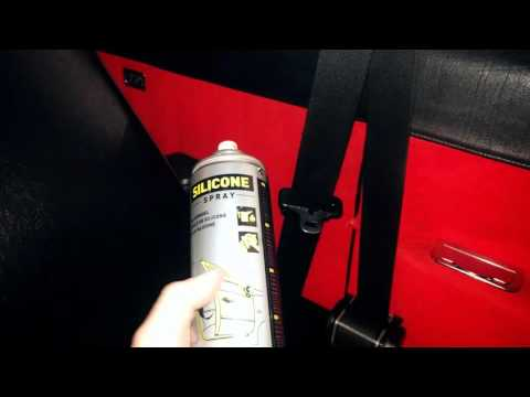 Seatbelts that won't rewind - solution