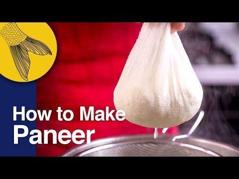 How to Make Soft Paneer/Chhana at Home