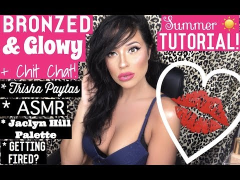 LONG LASTING Summer Makeup | Bronzed & Glowy!