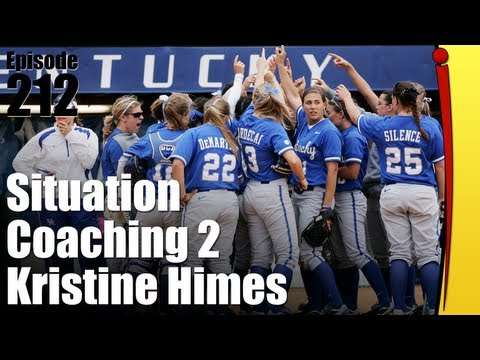 Situational Fastpitch Softball Coaching Part 2 - Kristine Himes