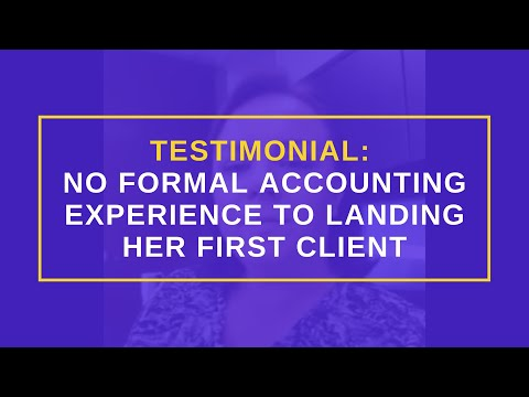 Anna Raffoul Reviews Andrew Argue: No Formal Accounting Experience To Landing Her First Client