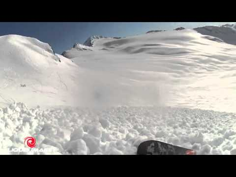 Boarder Gets Caught In Avalanche