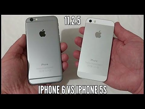 iPhone 6 vs iPhone 5s In 2018. iOS 11.2.5 Speed Test Comparison