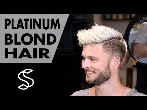 Aaron Ramsey to Justin Bieber - Platinum Blond Style - Men's Hair Inspiration