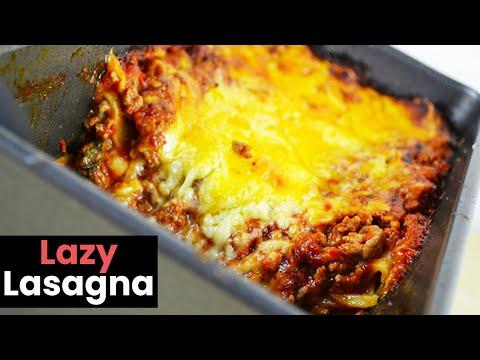 Dead Easy Lazy Lasagna Recipe