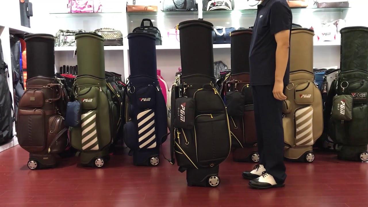 PGM Leather Golf Bag QB043