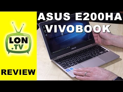 ASUS VivoBook E200HA Review - $199 Windows Laptop - compared to X205TA