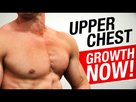 How To Get A Bigger UPPER CHEST! | TRY THIS!
