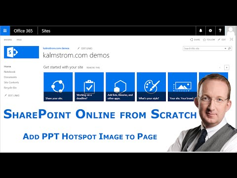 Add PowerPoint Hotspot Image to SharePoint Page