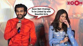 Meezaan Jaffrey on link-up rumours with Navya Naveli Nanda at his film Malaal