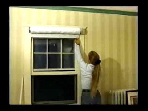 Window Quilt Installation