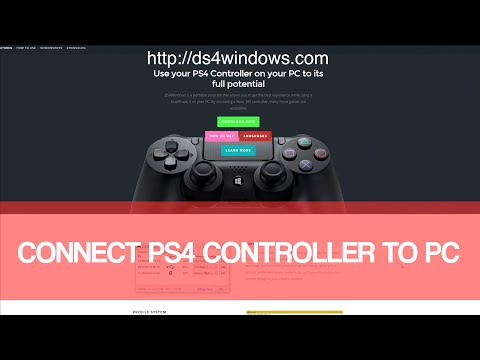 Connect PS4 Controller To PC Windows 10