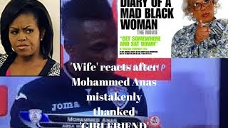 MOHAMMED ANAS, FOOTBALLER THANKED WIFE AND GIRLFRIEND | WIVE