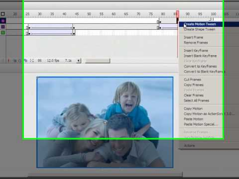 Seamless, fading photo banner in Flash CS3