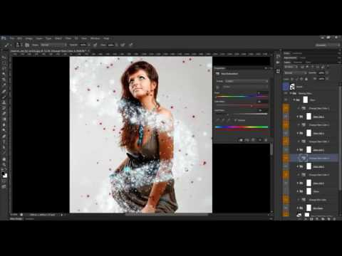 Glowing Stars Photoshop Action Tutorial