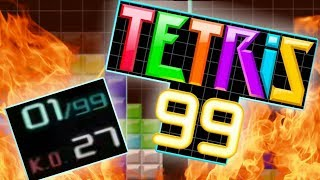 Best Tetris 99 Game Yet - 27 Kills w/ Commentary & Advice