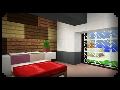 ✔ Minecraft: How to make a Bedroom